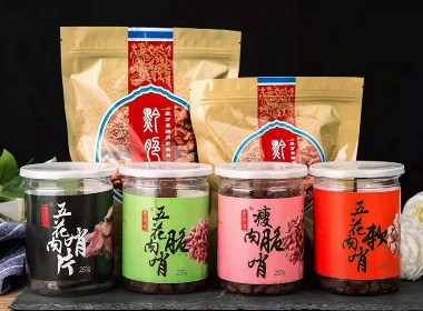 網紅產品黔脆味(原肖家脆哨)貴州食品包裝設計  大典創意設計