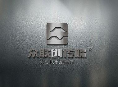 众联创传媒公司品牌logo设计