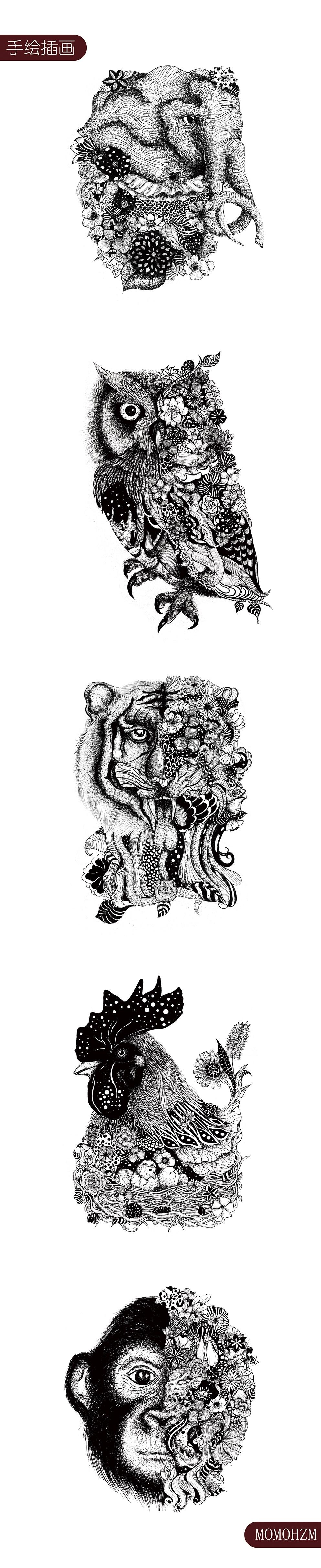 手绘插画系列