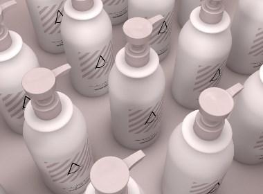 瓶型  包装设计 塑料瓶洗发水 护发素 护肤品 沐浴露