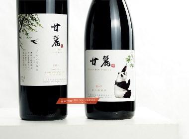 甘麓酒庄 × 古一设计|风雅颂 甘麓酒庄红酒产品包装设计欣赏
