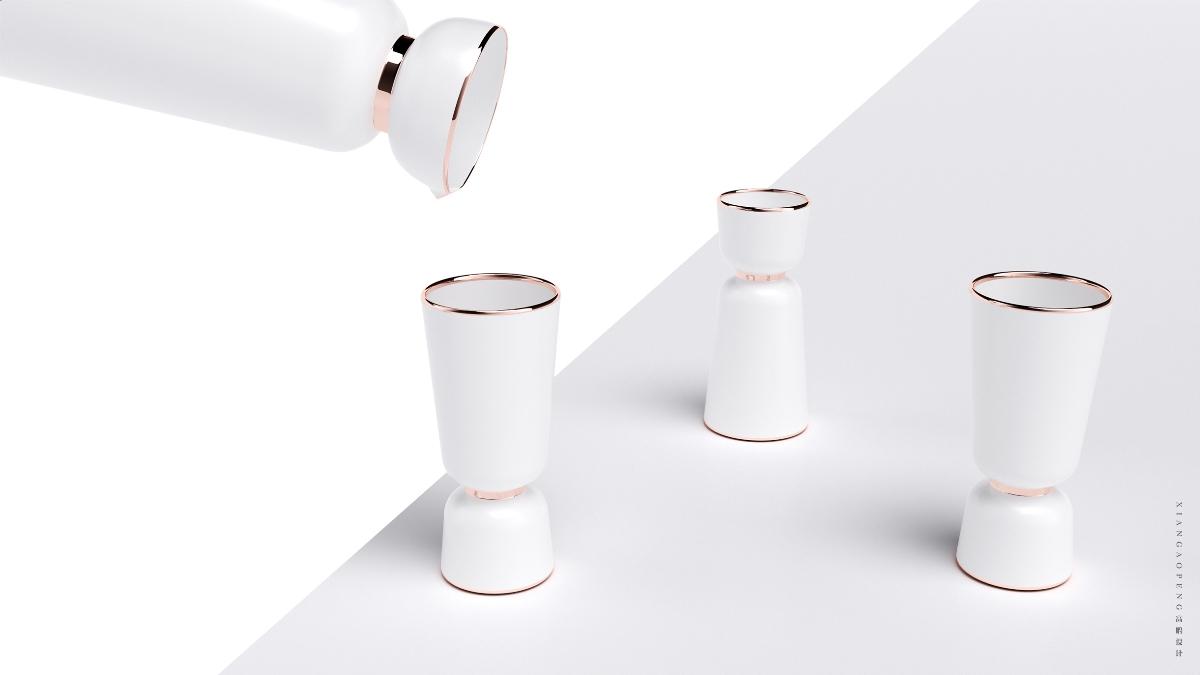 高鹏设计——分酒器饮品产品设计及包装设计