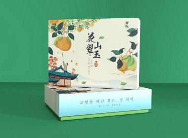青柚包裝設計研究室丨水果梨禮盒包裝設計,奏一曲中秋團圓盛宴!