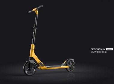 无动力滑板车