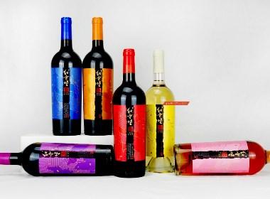 宁夏红寺堡全新红酒品牌全案设计产品开发案例