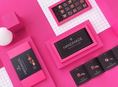 国外知名优质手工巧克力品牌VI设计——高级包装的品牌战略
