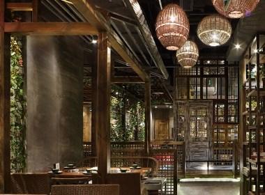 室内设计【艺鼎设计新作】浪漫的芭缇沁园,美味椰子鸡餐厅