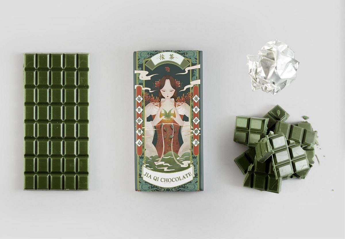 十二星座巧克力包装