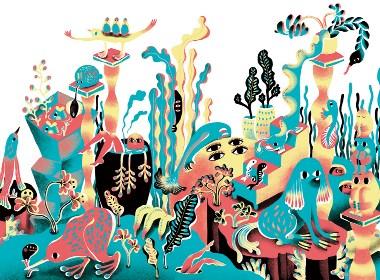 植物与人——创意插画设计