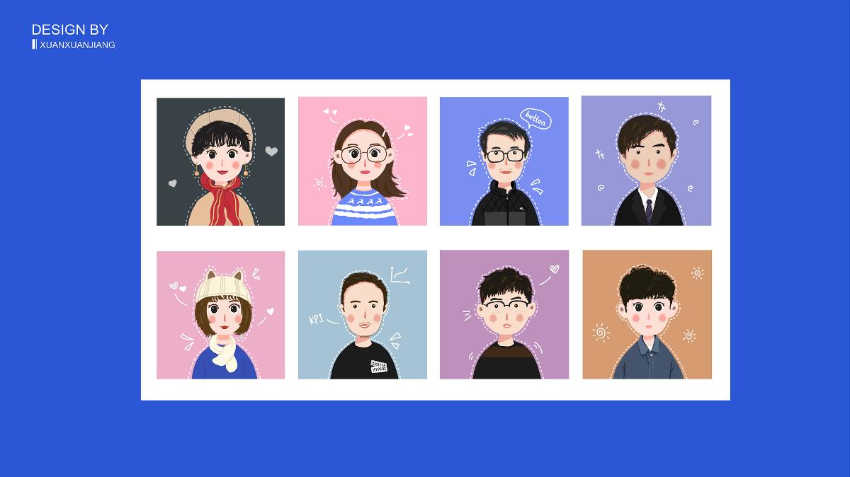 2019上半年插画作品集