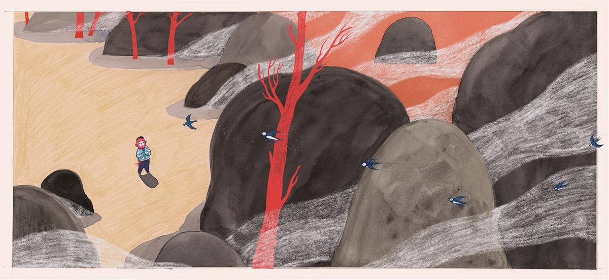 THE TREE创意插画设计