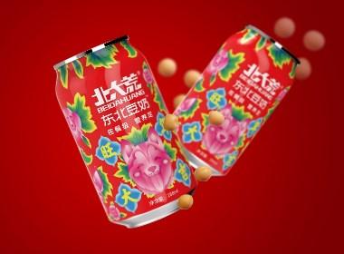 春节限量版北大荒豆奶饮料