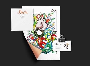O FOR TEA茶飲品牌設計