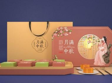 月饼包装设计 礼盒设计 | 领秀原创作品