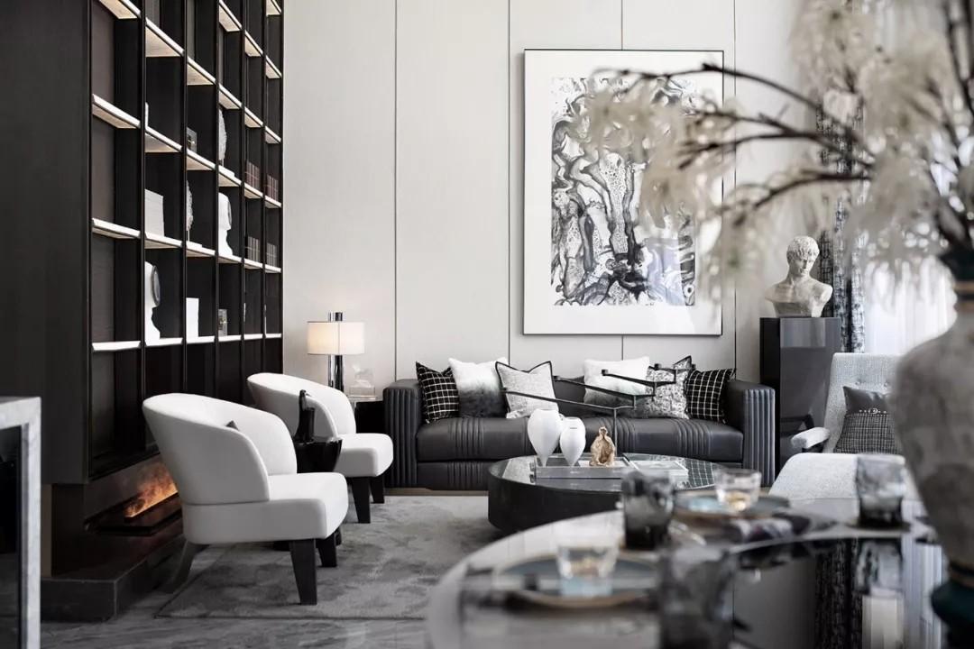 兼顾现代时尚与艺术人文的复式洋房--欧模设计圈