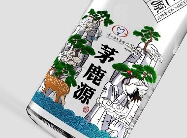 贵州茅台集团|茅鹿源酒包装设计