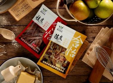 含怡食品系列包裝設計案例