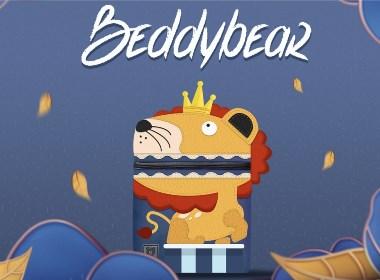 產品設計 兒童背包 杯具熊