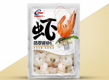 【知行品牌策划】金航生鲜虾仁