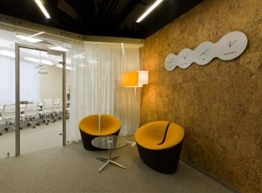北京互联网公司 面构成 创意办公空间设计欣赏 - 筑品天工