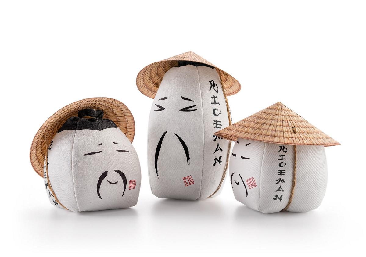 riceman大米包装设计