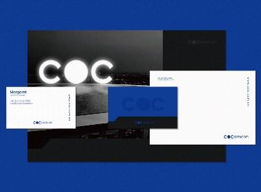 COC科技品牌VI設計 by 心銘舍