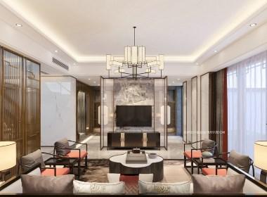 新中式别墅设计丨如伊视觉第4期