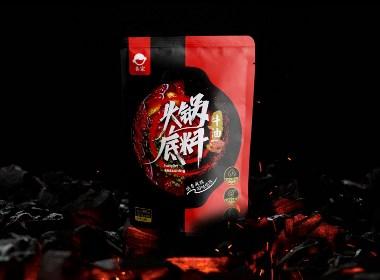 April作品「火锅底料 」包装设计—— 醇香麻辣 回味悠长