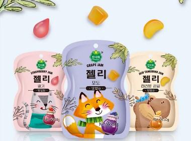 思羿策划【儿童向】进口果汁软糖包装设计