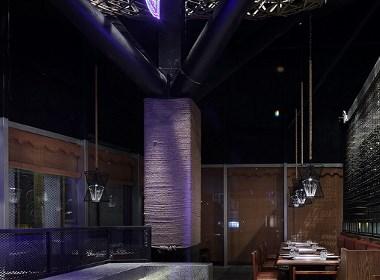 川菜餐厅设计,火锅餐厅设计,艺鼎新作:可辣可不辣的老船说火锅