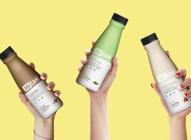 HICAN嗨餐 轻断食低脂代餐饮料品牌包装设计