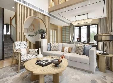 417㎡日式别墅样板房,简洁而又淡雅--欧模设计圈
