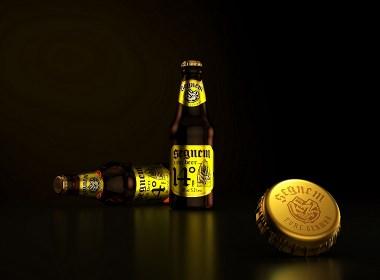 一道设计  德国斯格莱姆啤酒包装策划设计