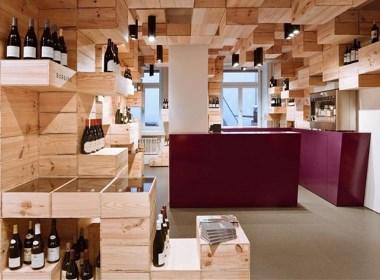 梧桐堡葡萄酒商店室内设计 - 筑品天工 - 筑品装饰