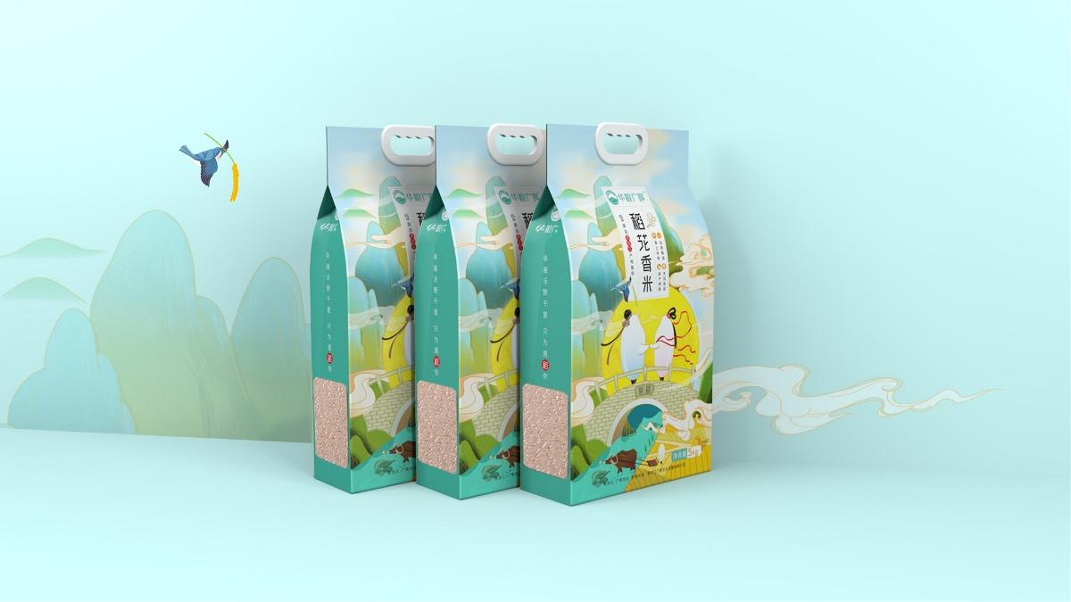 广晖农业大米包装策划设计方案