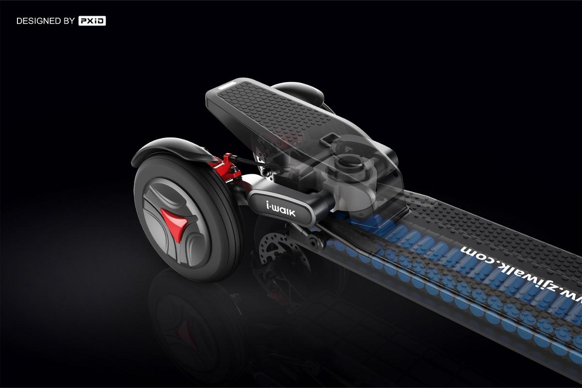 电动三轮滑板车设计