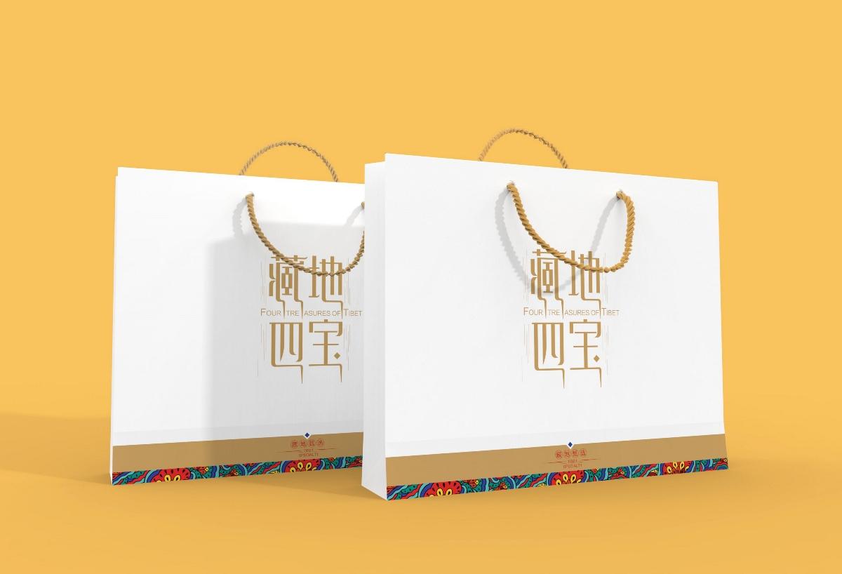 藏地四宝——西藏特产礼盒