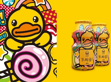 B .DUCK 小黄鸭儿童食品包装设计