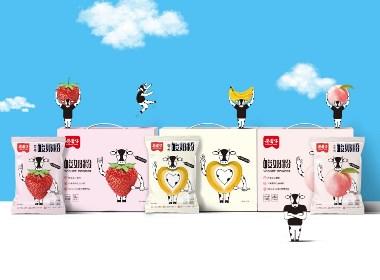 蘑蘑牛——酸奶粉包裝設計