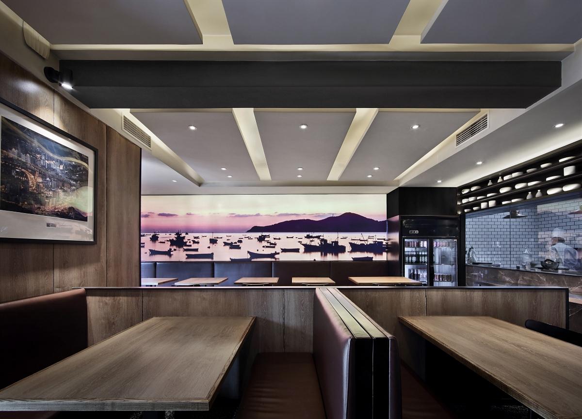 餐饮空间设计【艺鼎新作】晓升,一场撩拨情感的视觉与味觉的温馨体验