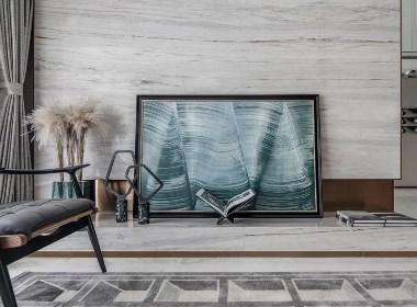 25㎡静谧奢华空间,伊人泛水的蓝色海岸风情   库玛设计-欧模网
