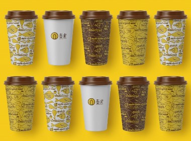 泰米自选快餐饭馆品牌vi视觉设计