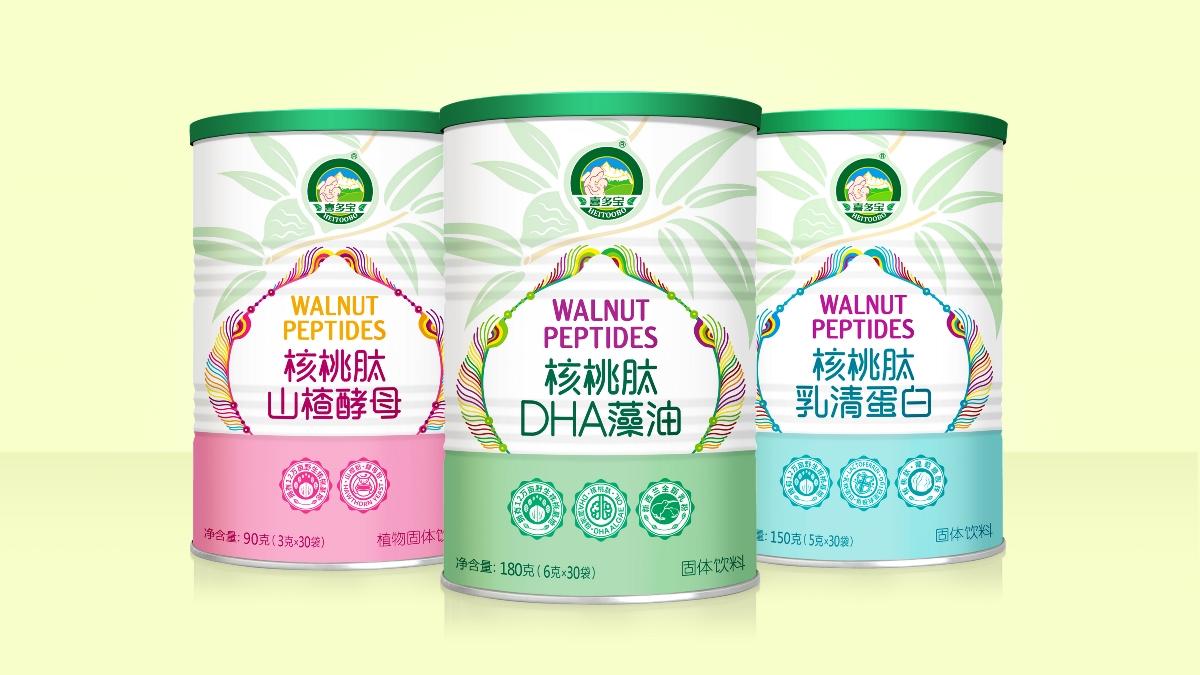 喜多寶×唐風漢韻 | 核桃肽營養品