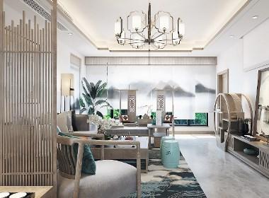 新中式禅意风格家装一套