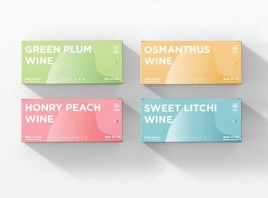 三生石酒业 果酒系列新品外包装设计