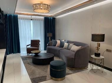 郑州130平全屋定制现代轻奢装修,魅力十足的设计