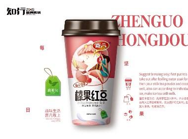 【知行品牌策劃】喜凡每日堅果奶茶