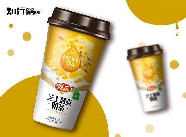 【知行品牌策划】喜凡水果茶系列包装