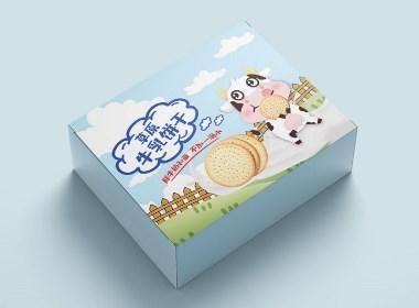 牛乳草原饼干