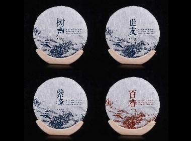云南普洱茶357茶餅包裝
